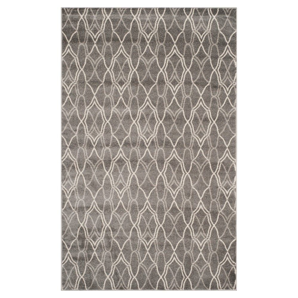 Toulouse 6'x9' Indoor/Outdoor Rug - Gray/Light Gray - Safavieh