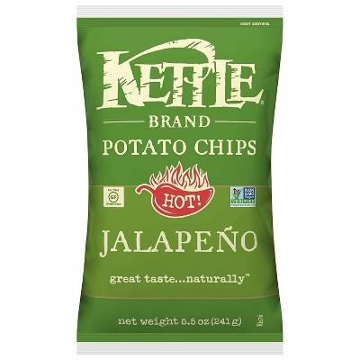 Kettle Jalapeno Potato Chips - 8.5oz