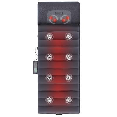 Full Body Seat Cushion Massager Mat with Shiatsu Neck Massager with Heat