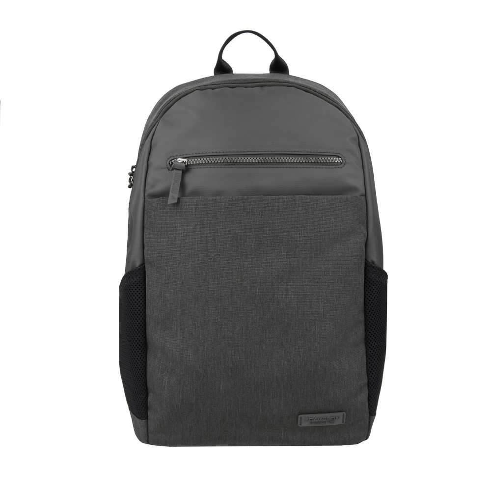"Image of ""Travelon 17.5"""" RFID Anti-Theft Metro Backpack - Gray"""