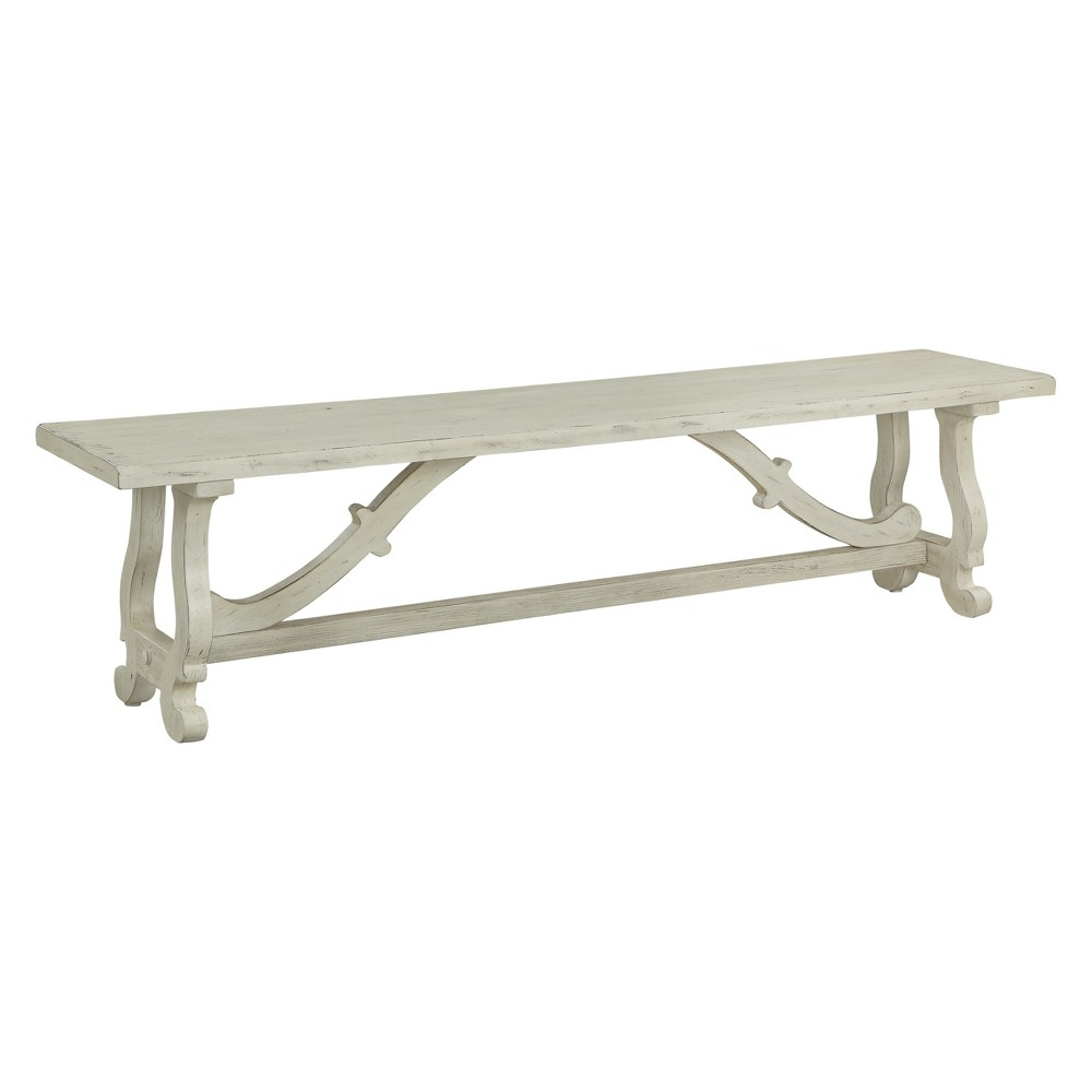 Christopher Knight Home Orchard Park Dining Bench White