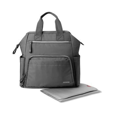 Skip Hop Mainframe Wide Open Diaper Backpack - Charcoal