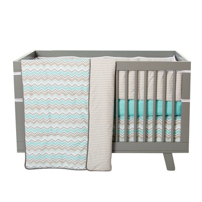 Trend Lab Seashore Waves Crib Bedding Set - 3pc