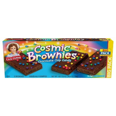 Little Debbie Cosmic Brownies - 28oz/12ct