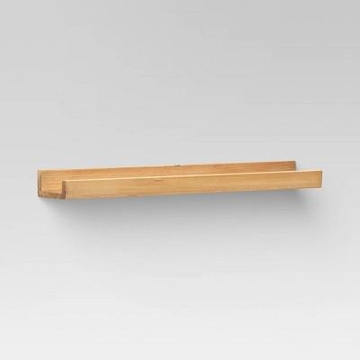 "23"" Natural Wood Picture Ledge - Threshold™"