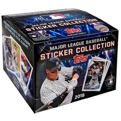 Topps 2018 MLB Sticker Collection Box [50 Packs] - image 1 of 1