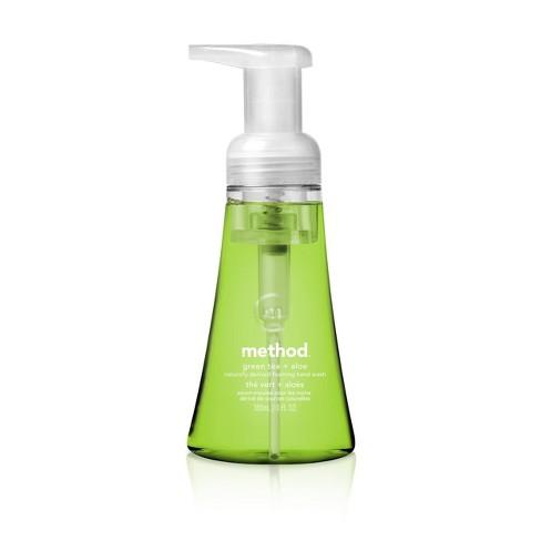 Method Green Tea + Aloe Foaming Hand Soap - 10 fl oz - image 1 of 4