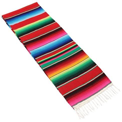 Mexican Serape Hammock Blanket - Multi-Color - Sunnydaze Decor - image 1 of 4