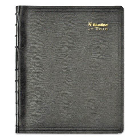 blueline miraclebind 17 month academic planner soft cover 11 x 9 1