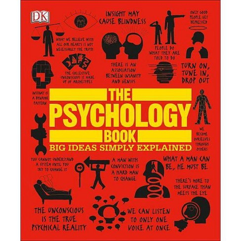 The Psychology Book - (Big Ideas) (Paperback) - image 1 of 1