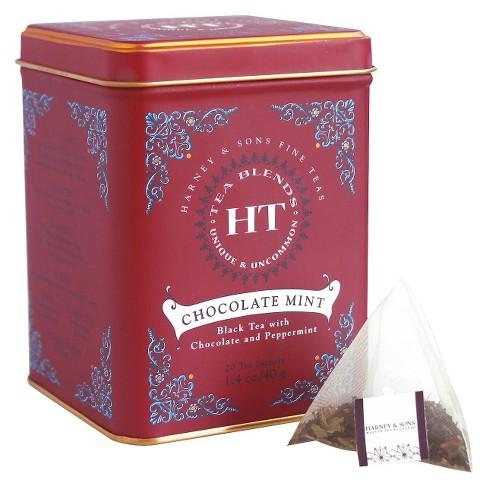 Harney & Sons Chocolate Mint Black Tea - 20ct - image 1 of 4