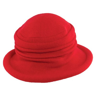 72911c68fa1 Scala™ Collezione Women s Wool Cloche Hat - Olive   Target