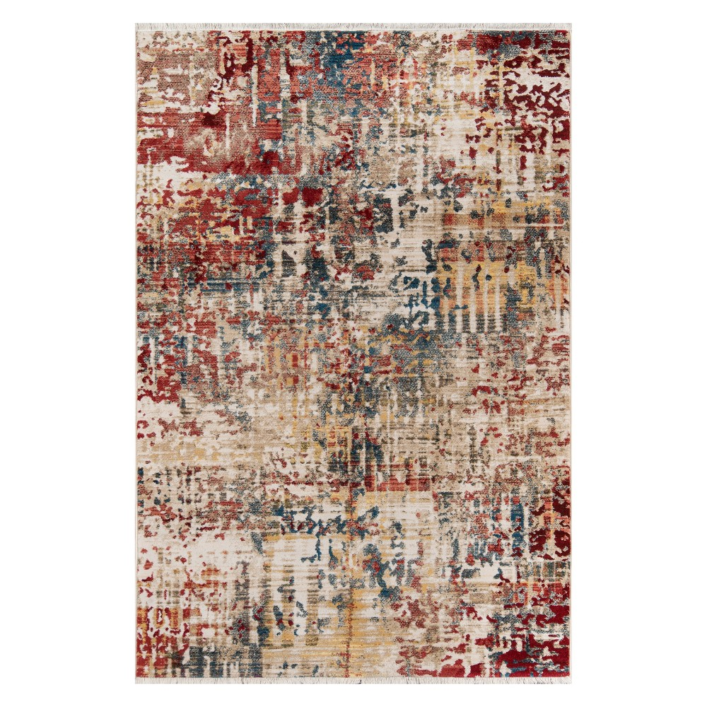 2'X3' Splatter Loomed Accent Rug - Momeni, Multicolored