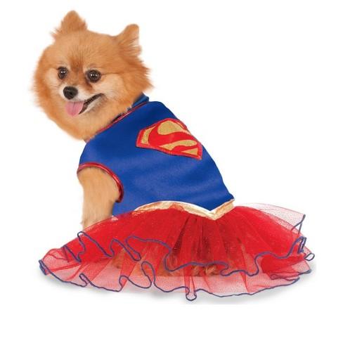 DC Comics Supergirl Tutu Dress Pet Costume - image 1 of 1