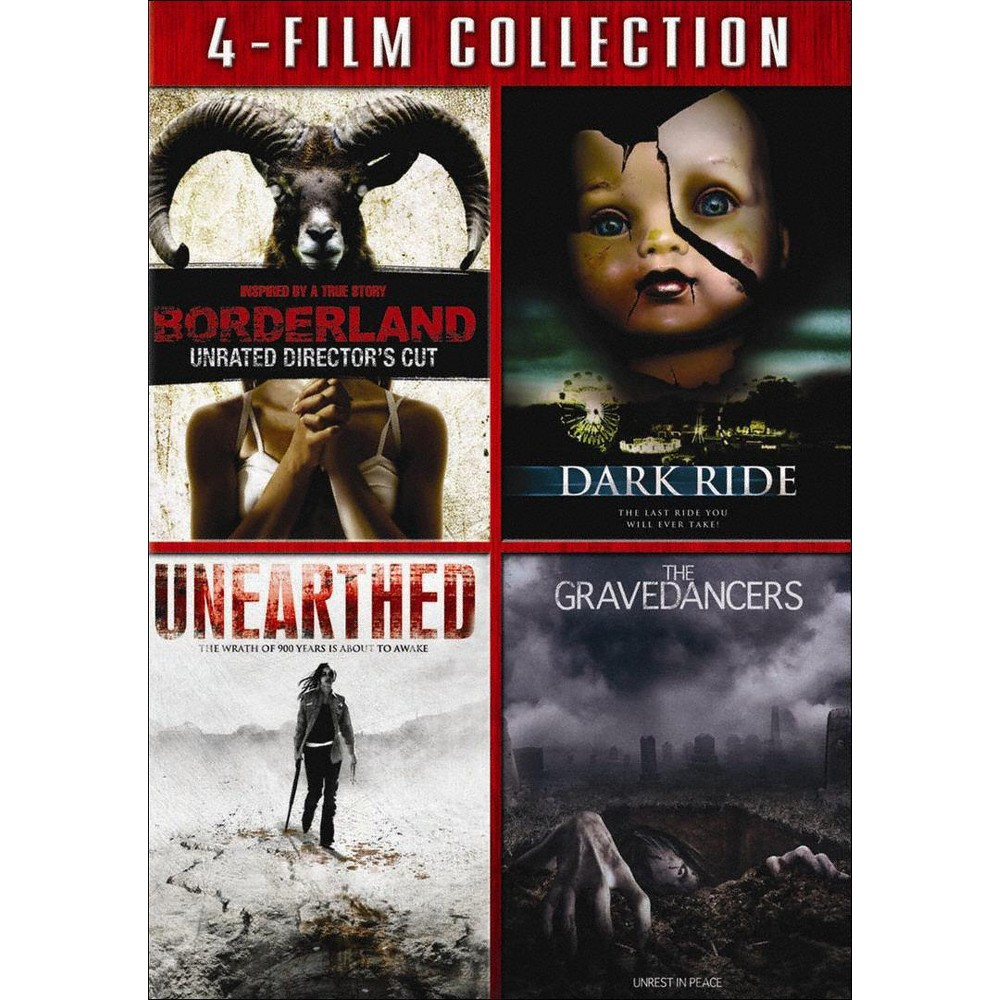 Borderland/Dark Ride/Unearthed/Graved (Dvd)