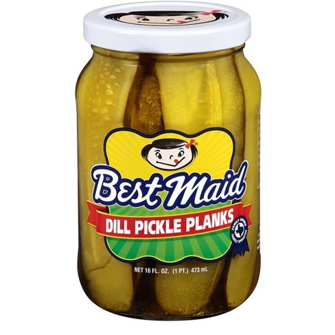 Best Maid Dill Pickle Planks - 16oz - image 1 of 1
