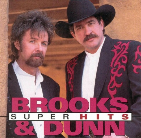 Brooks & dunn - Super hits:Brooks & dunn (CD) - image 1 of 10