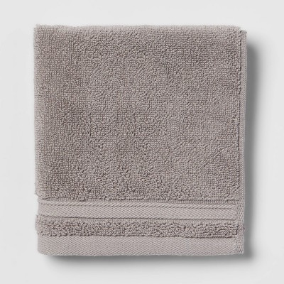 Performance Washcloth Gray - Threshold™