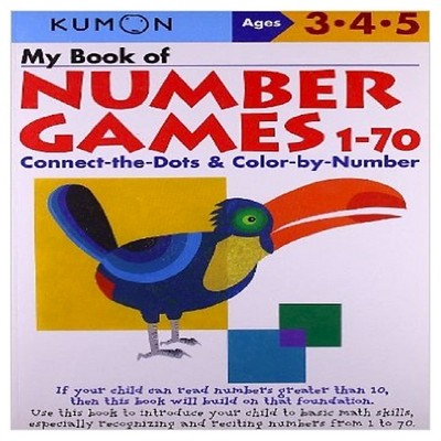 My Book Of Number Games 1-70 (Original) (Paperback) by Shinobu Akaishi