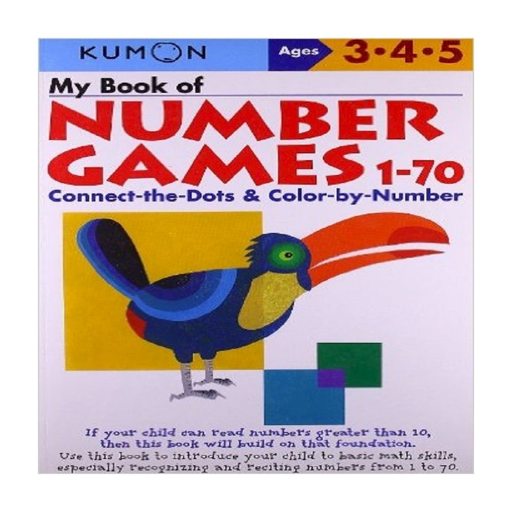 My Book Of Number Games 1 70 Original Paperback By Shinobu Akaishi
