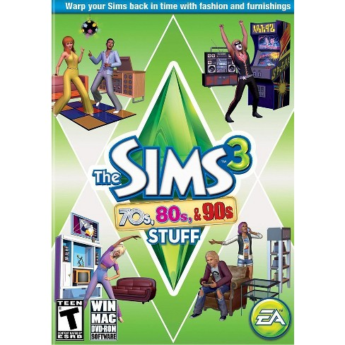 The Sims 3: 70s, 80s, & 90s Stuff - PC Game (Digital) - image 1 of 3