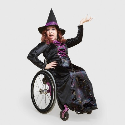 Adult Adaptive Witch Halloween Costume with Hat - Hyde & EEK! Boutique™