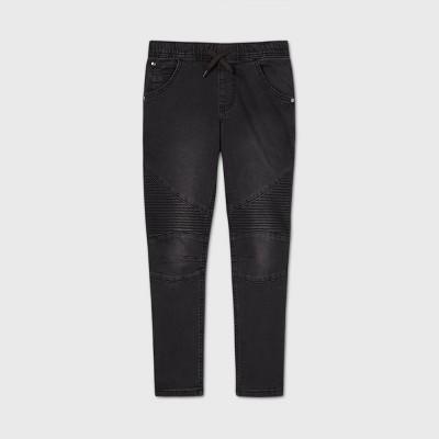 Boys' Tie-Front Skinny Jeans - art class ™ Black
