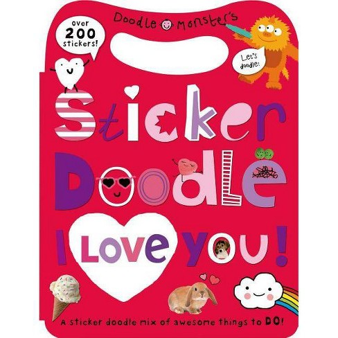 Sticker Doodle I Love You - by  Roger Priddy (Mixed media product) - image 1 of 1
