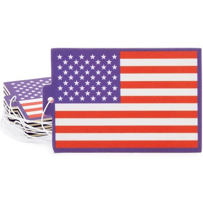 Okuna Outpost 6 Pack American Flag Air Fresheners, New Car Scent