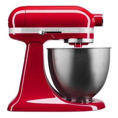 KitchenAid Refurbished Artisan Mini 3.5qt Tilt-Head Stand Mixer Empire Red - RKSM33XXER