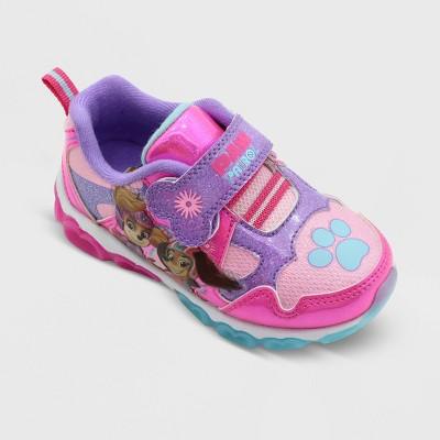 Toddler Girls' PAW Patrol Athletic Sneakers - Purple/Pink