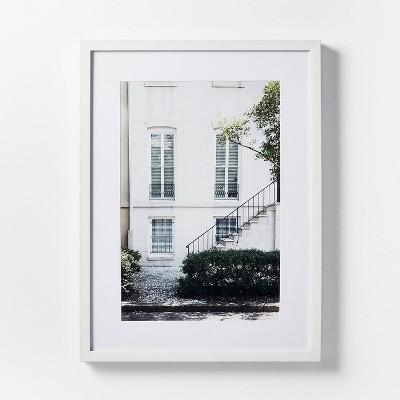 "18"" x 24"" Atlanta Building Framed Wall Art - Threshold™ designed with Studio McGee"