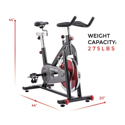 40e2ce51957 Sunny Health And Fitness (SF-B1002C) Chain Drive Indoor Cycling Bike - Dark  Gray   Target