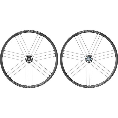 700c Disc Wheelset >> Campagnolo Zonda Disc Brake 700c Road Wheelset Clincher