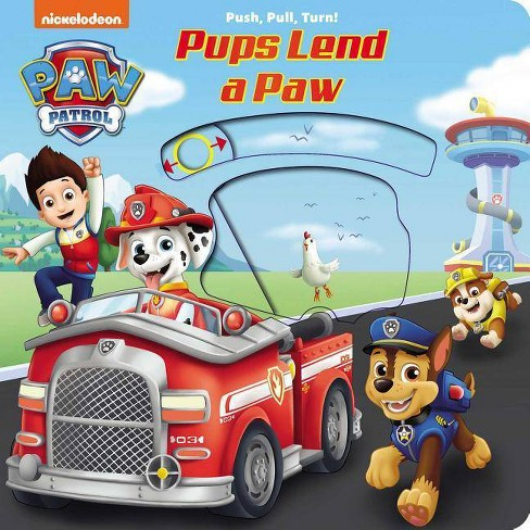 Nickelodeon Paw Patrol: Pups Lend a Paw - (Board_book) - image 1 of 1