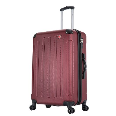 DUKAP Intely 28'' Hardside Spinner Suitcase with Integrated Digital Weight Scale