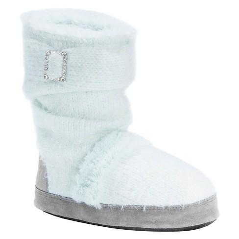 Women s MUK LUKS® Jenna Knit Slipper Boots   Target f86d99dc6e