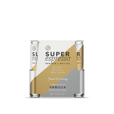 KITU Super Espresso Vanilla - 4pk/6 fl oz Cans