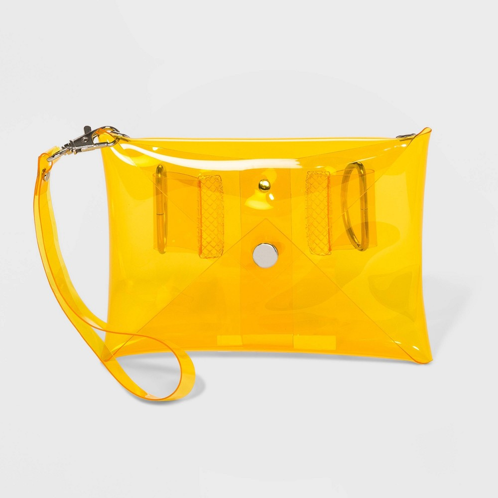 Image of Color Tribe Women's Stadium Friendly Convertible Fanny Pack - Yellow, Adult Unisex, Size: Small