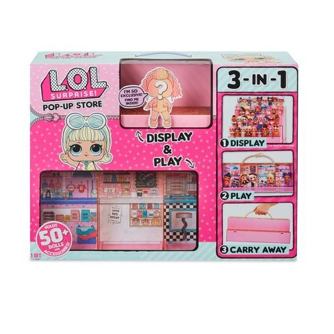 L O L Surprise Pop Up Store Doll Display Case Target