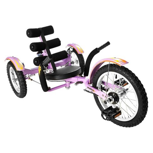 "Mobo Youth Mobito 16"" Three Wheeled Cruiser Tricycle - Purple - image 1 of 6"