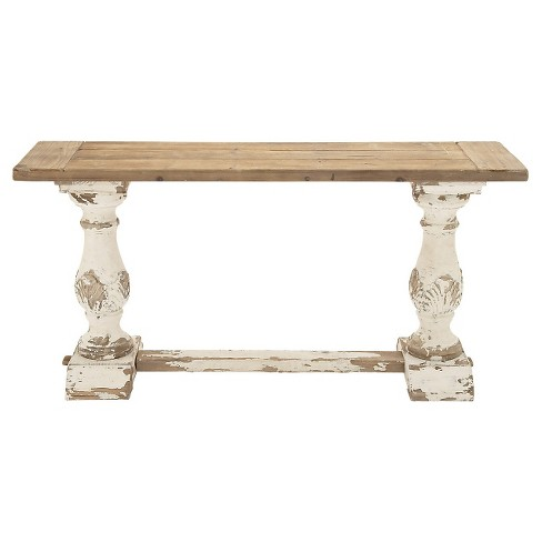 Distinctive and Appealing Wood Console Table - image 1 of 1