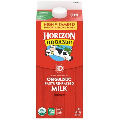 Horizon Organic Vitamin D Milk - 0.5gal