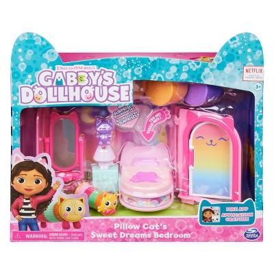 Gabby's Dollhouse Pillow Cat's Sweet Dreams Bedroom