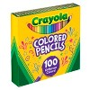 Crayola 100ct Sharpened Colored Pencils - image 2 of 4