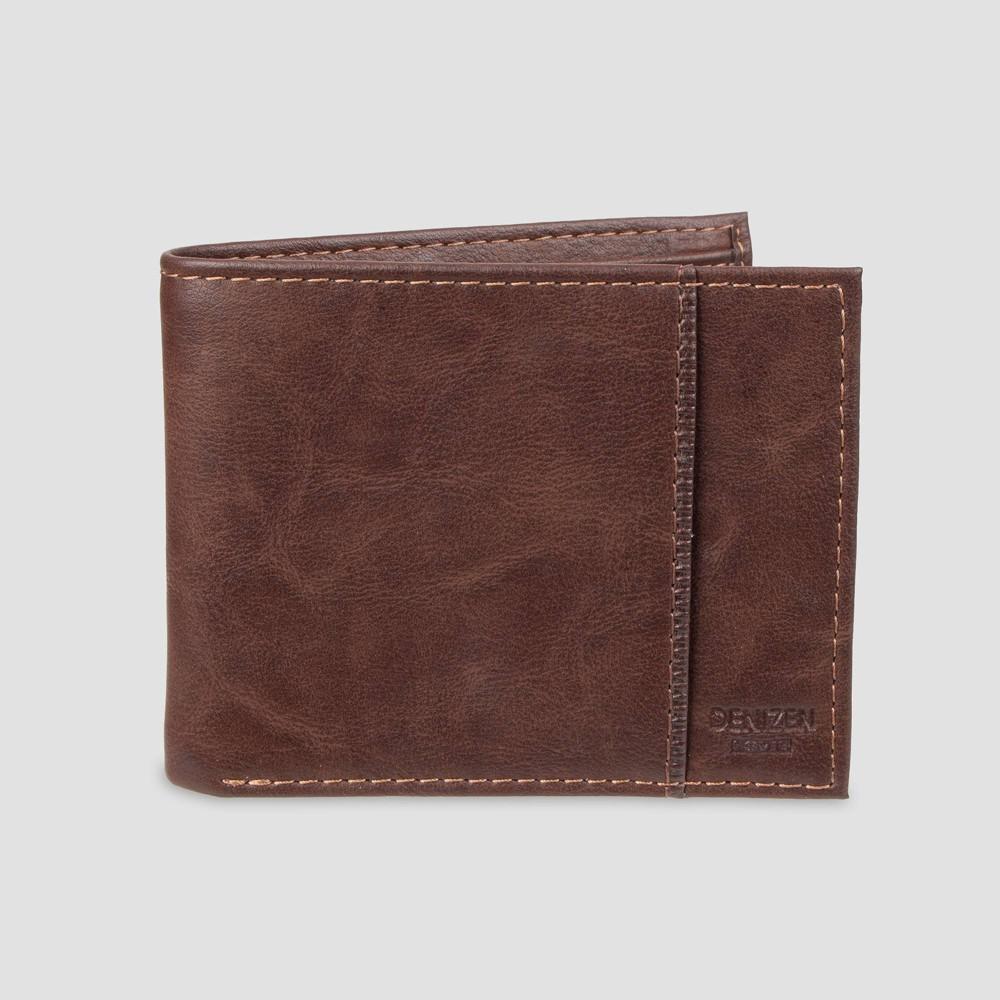 Image of DENIZEN from Levi's Men's Slimfold RFID Wallet - Brown