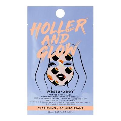 Holler and Glow Wassa-Bae Printed Sheet Mask - 0.68 fl oz
