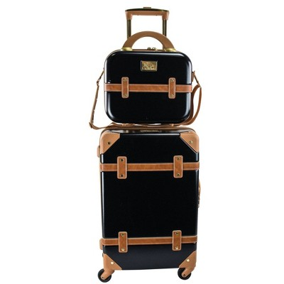 Chariot Travelware Gatsby 2pc Luggage Set - Blue