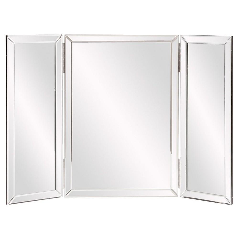 Rectangle Tripoli Vanity Bathroom Mirror Clear - Howard Elliott