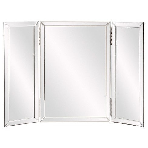 Rectangle Tripoli Vanity Bathroom Mirror Clear - Howard Elliott - image 1 of 4